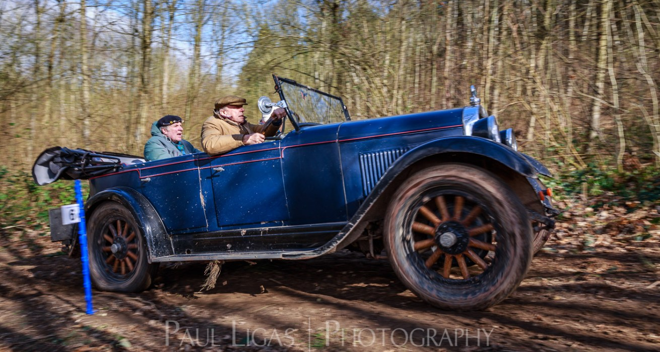 Vintage car hill climbing, Ledbury, Herefordshire event photographer photography 9371