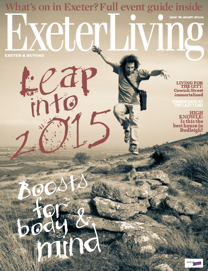 Exeter Living Magazine Cover January 2015