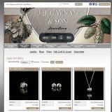 JB Gaynan & Son, Ledbury, Herefordshire jewellery product website image