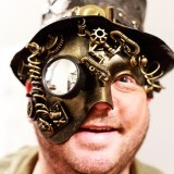 Steampunk Yule Ball 2017, event photographer photography music concert portrait herefordshire 8894