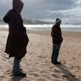 Watching The Waves, Newquay, fine art photographer photography people herefordshire 7462