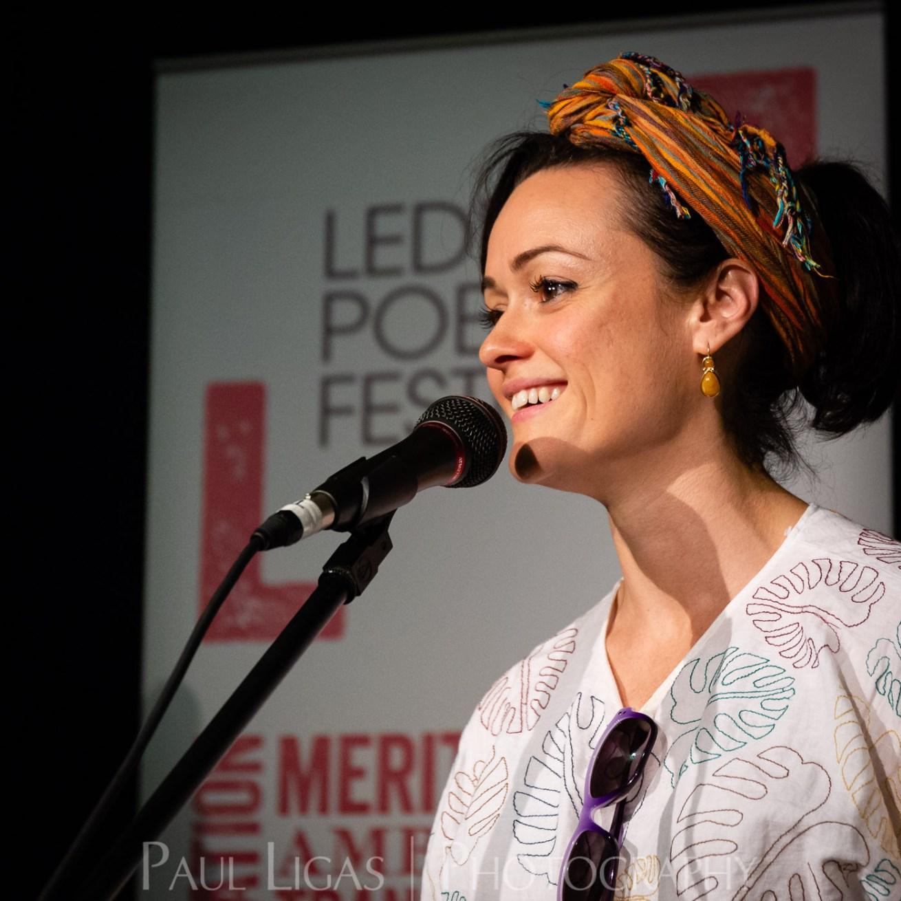 Ledbury Poetry Festival 2018 event photographer herefordshire Sabrina Mahfouz 9549