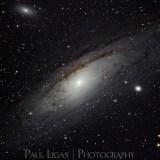 Astrophotographer Ledbury Herefordshire M31 Andromeda Galaxy Deep Sky Object