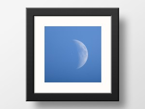 paul ligas photography print ISS international space station Moon transit 2020 05 28 mockup