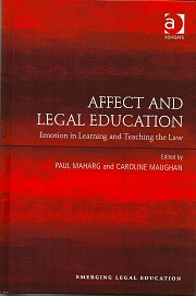 Affect and Legal education book cover