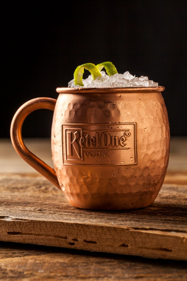 Moscow Mule with Ketel One Vodka #paulmartinsag