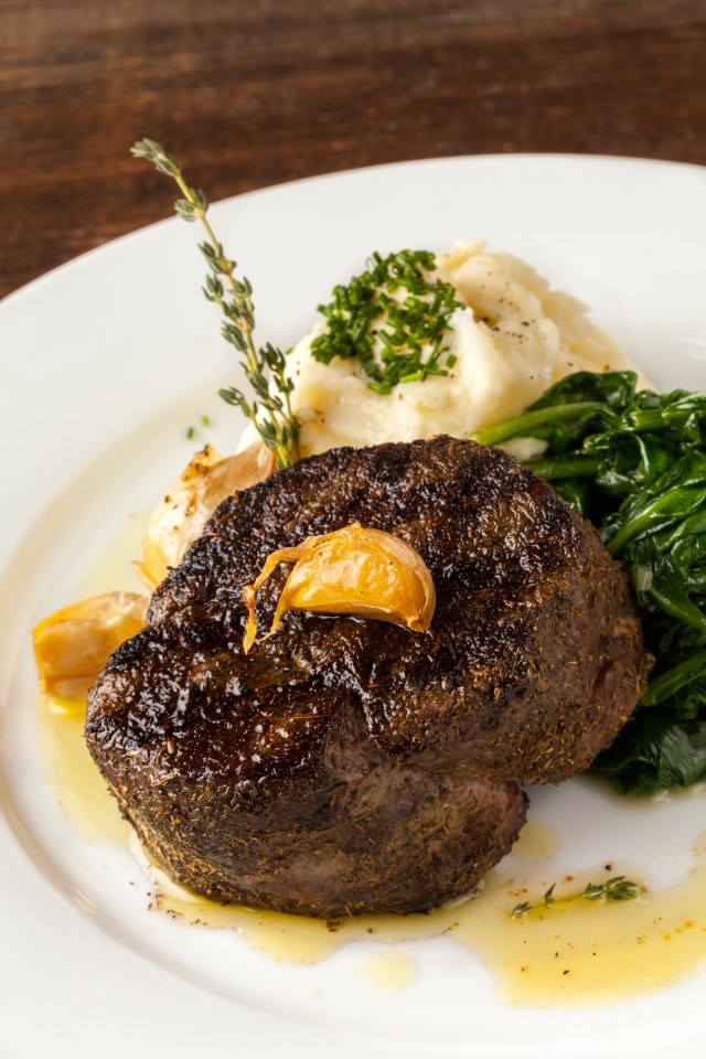 Herb Crusted Filet Mignon for Valentine's Day