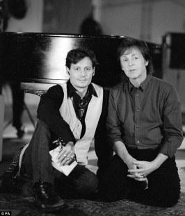 Johnny Depp and Paul McCartney