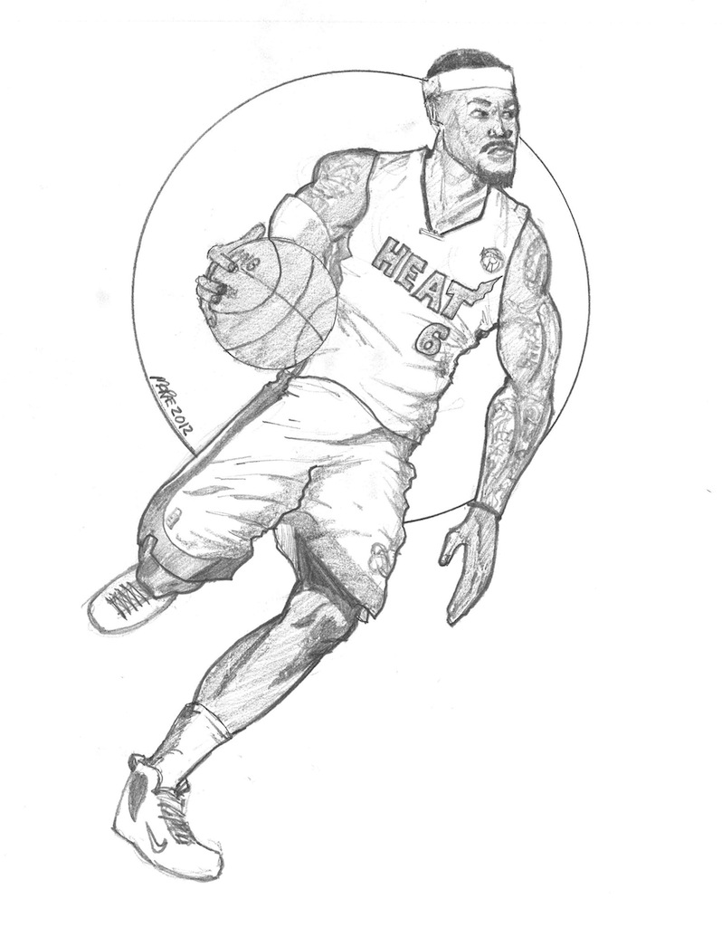 Nba Coloring Pages Lebron James. big boss basketball pictures ... | 1024x798