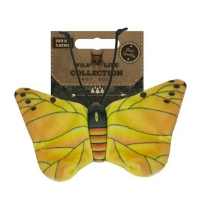 Wild Life Yellow Butterfly