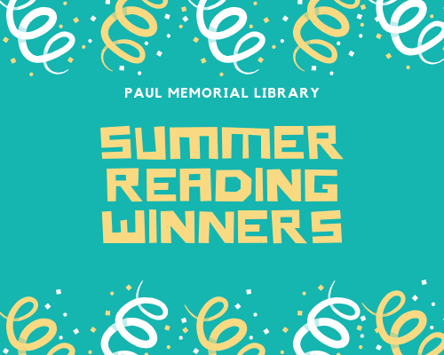 Summer Reading Winners