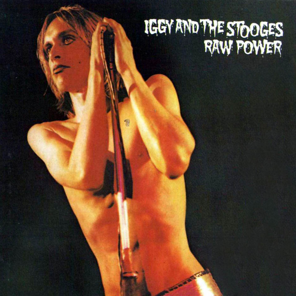 """Raw Power"" produced by Bowie in London"