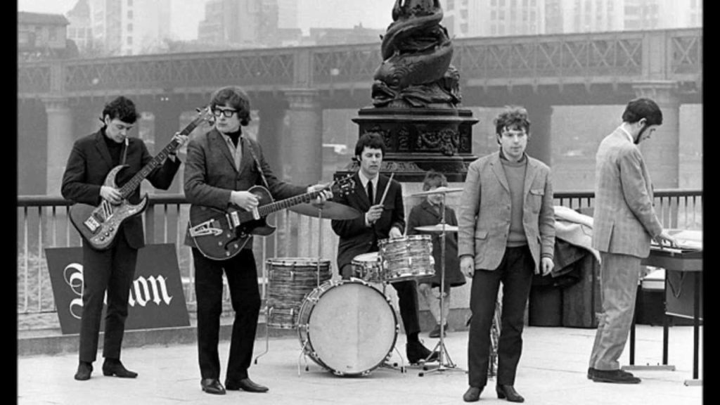 Van Morrison and Them back in 1965
