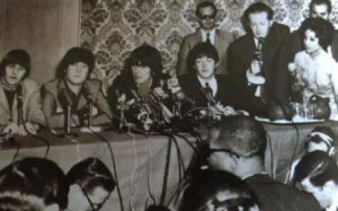 Beatles with Tony Barrow
