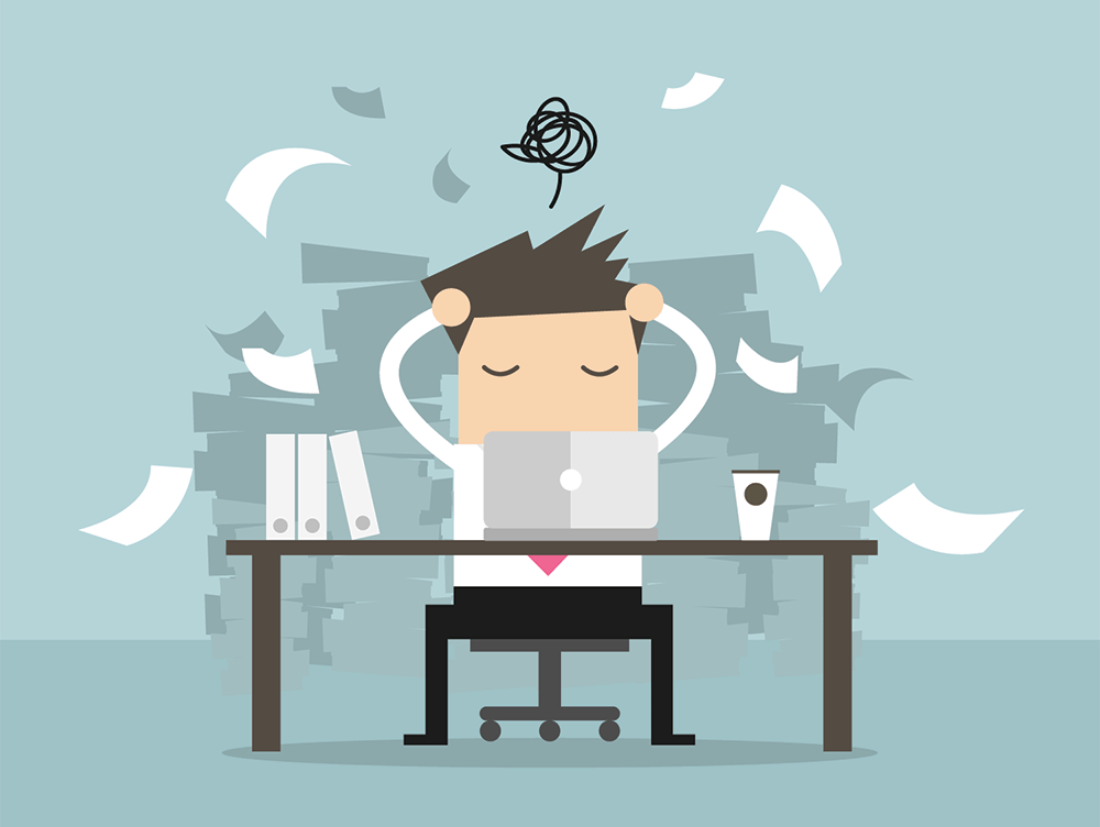 What To Do When You're Completely Overwhelmed With Work