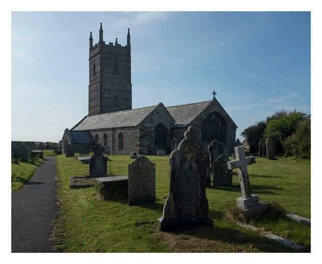 St Eval church