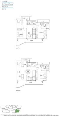 Kallang Riverside Floorplan 5
