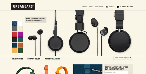Urban Ears Ecommerce Website