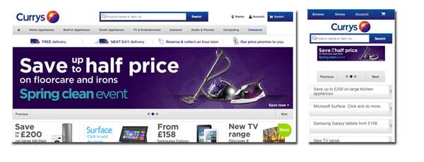 Currys Ecommerce