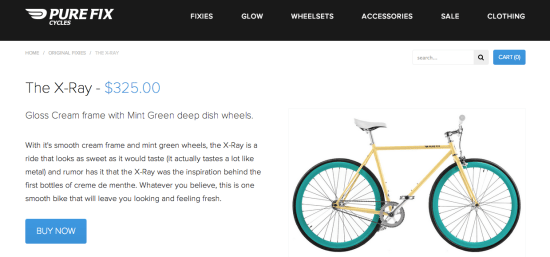 PureFixCycles Product Page