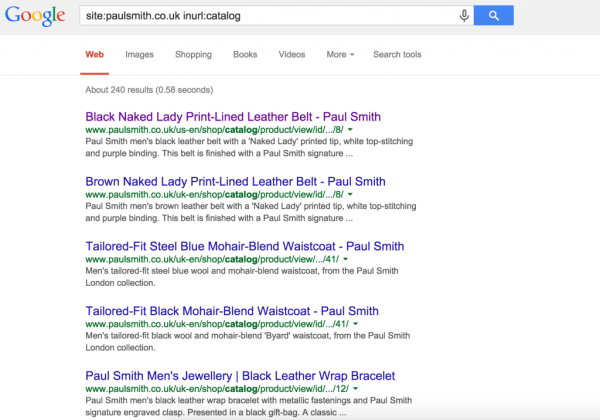 Paul Smith SEO