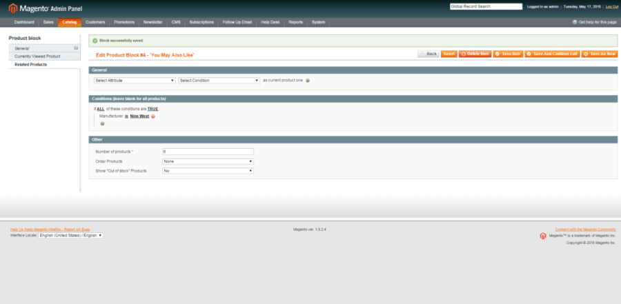 Magento Related Products