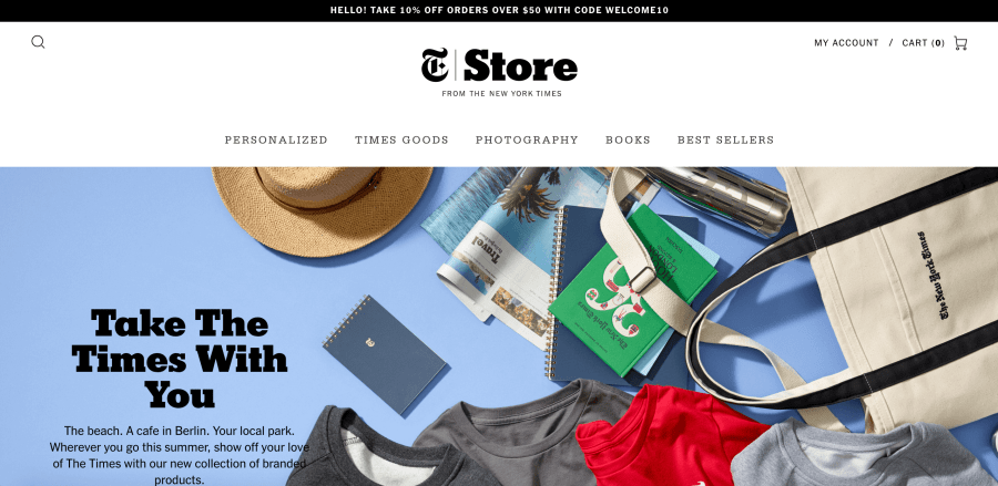 New York Times Shopify Plus
