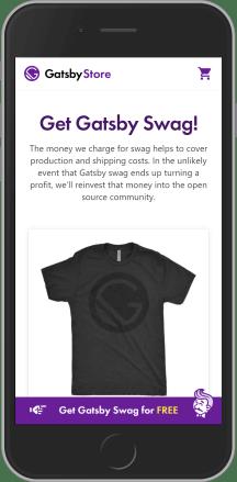 Gatsby Store