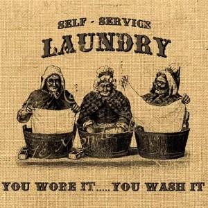 Vintage Lavandaria Self Service