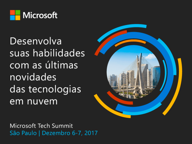 Microsoft Tech Summit - Post 1