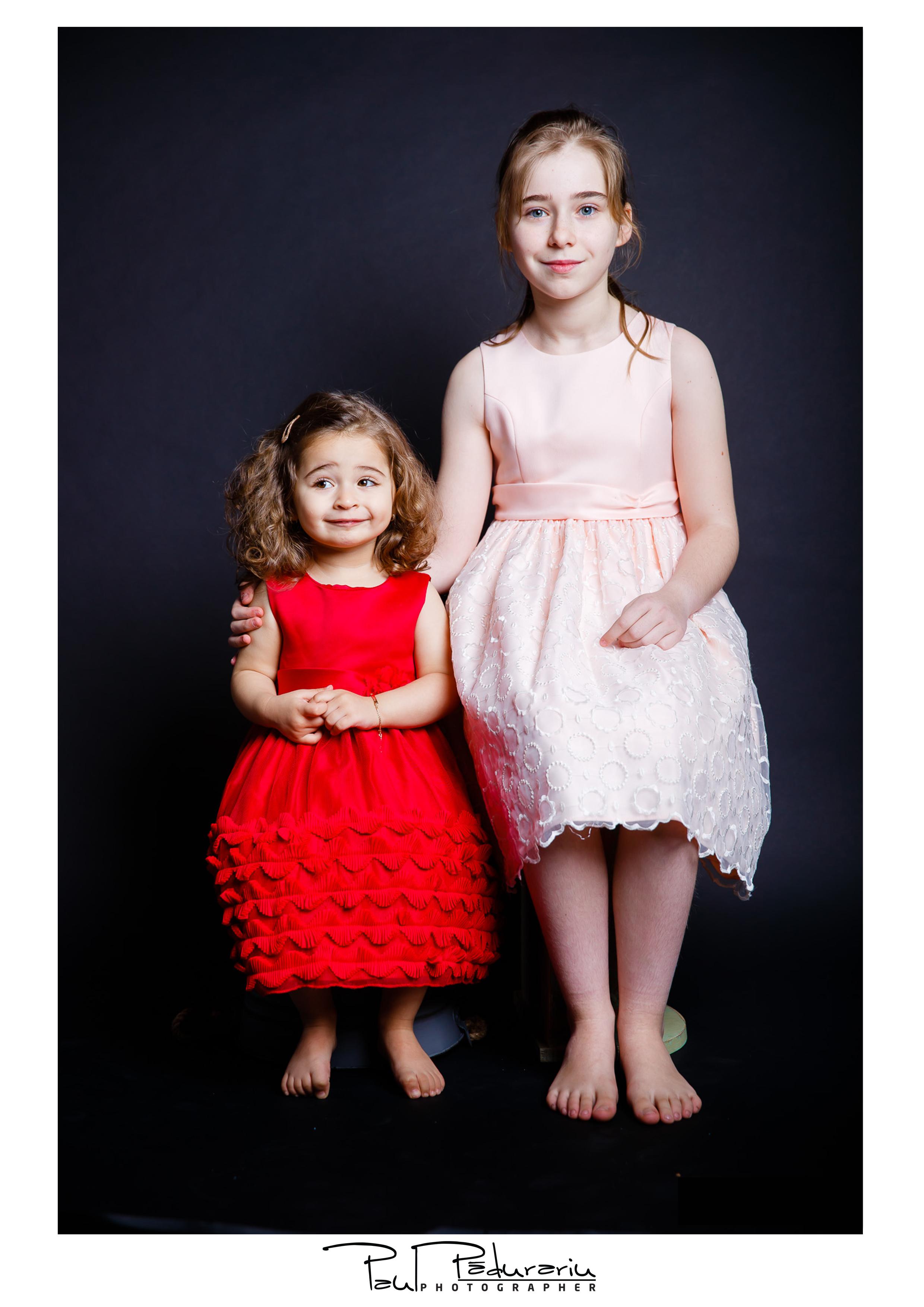 Sedinta foto copii peste 1 an studio foto iasi Paul Padurariu