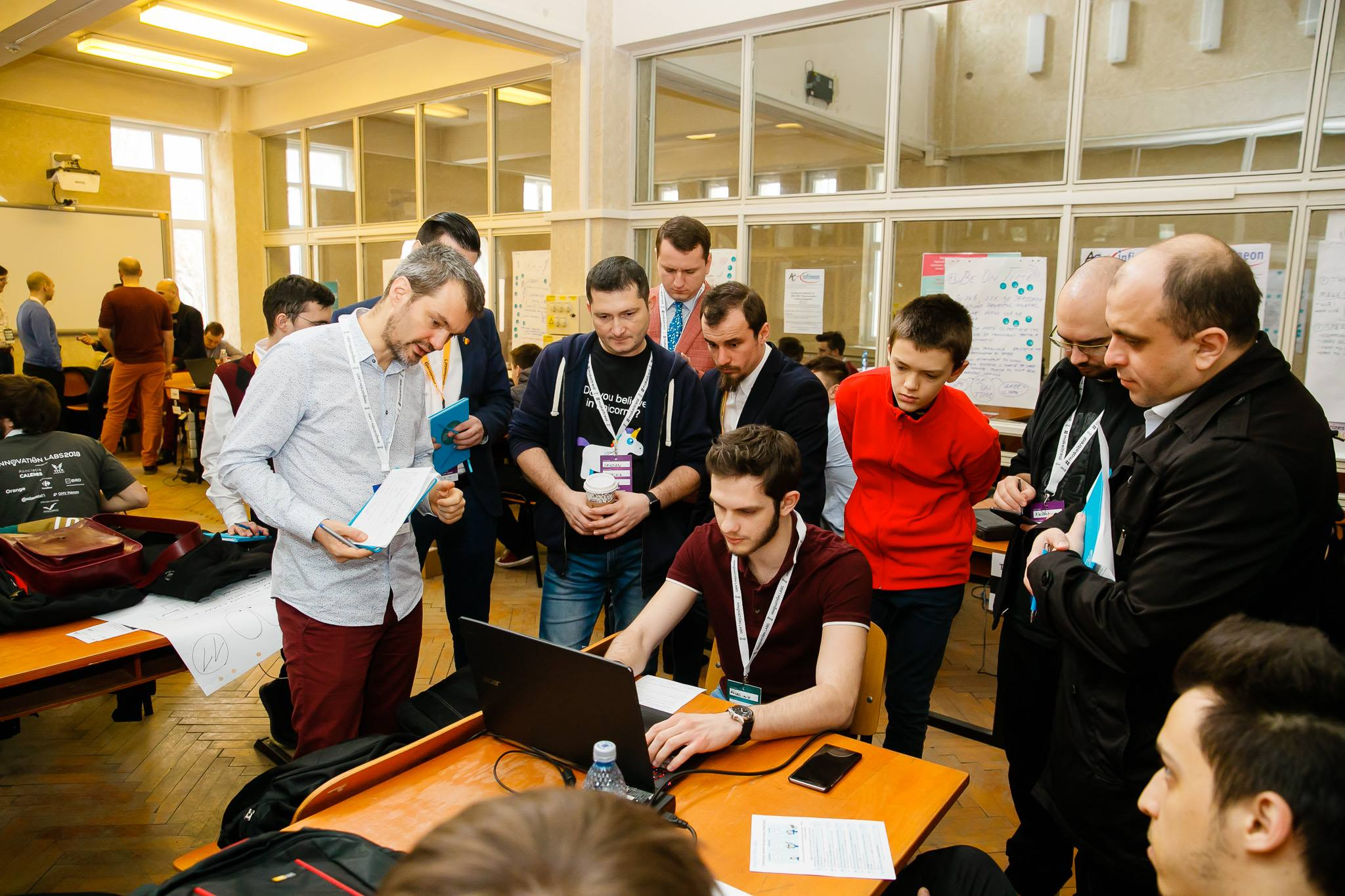 Innovation Labs 2018 Hackathon paul padurariu www.paulpadurariu.ro fotograf profesionist evenimente Iasi 58