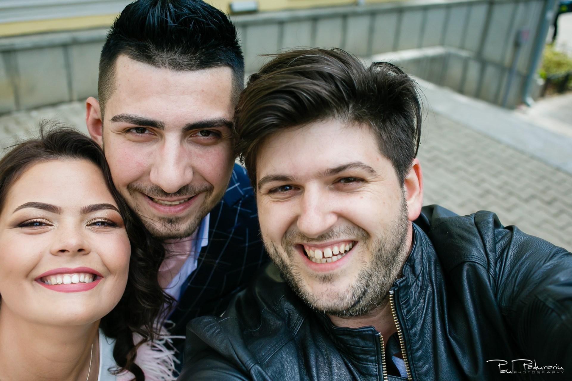 Selfie cu Antonia si Alin www.paulpadurariu.ro © 2018 Paul Padurariu