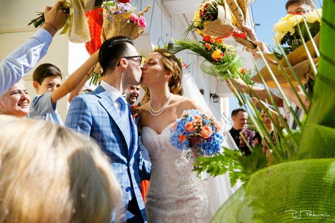 Roxana si Silviu Nunta Hotel Eden Iasi - oficierea starii civile podul de flori - fotograf profesionist nunta www.paulpadurariu.ro © 2017 Paul Padurariu