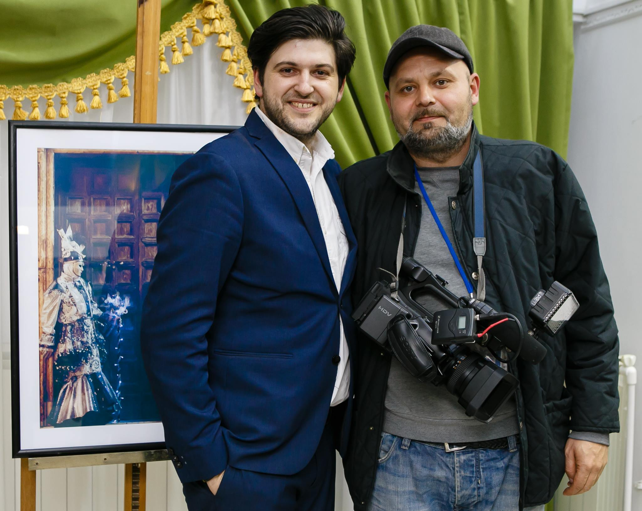 Vernisaj Expozitie de Fotografie Povesti Venetiene Paul Padurariu fotograf profesionist Iasi - fotografie cameraman