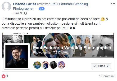 Larisa si Bogdan Nuntă la Pleiada - Paul Padurariu fotograf de nunta iasi 2018 www.paulpadurariu.ro testimonial
