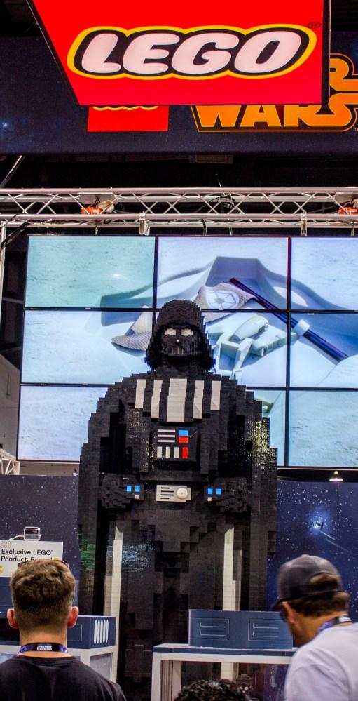 20 Foot Tall Lego Darth Vader