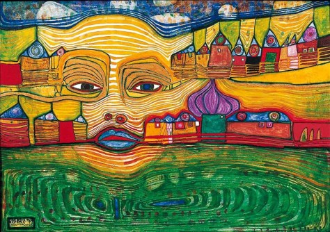 Image result for Hundertwasser