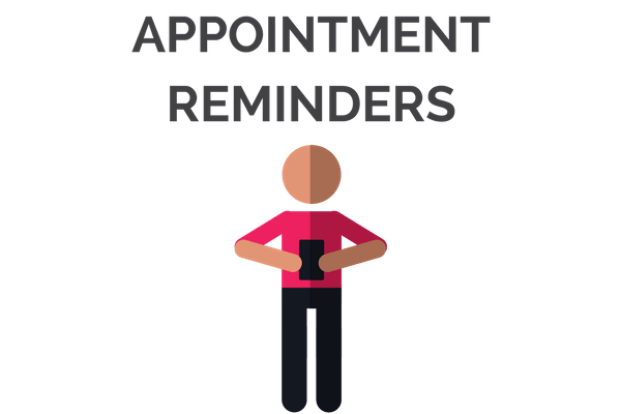 Email or Text Appointment Reminders