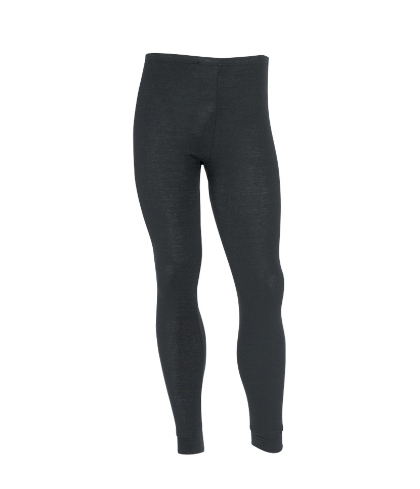 Sherpa Unisex Polypropylene Thermal Pants-Black