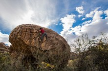 Machete V11, 2nd ascent, Penoles, Mexico