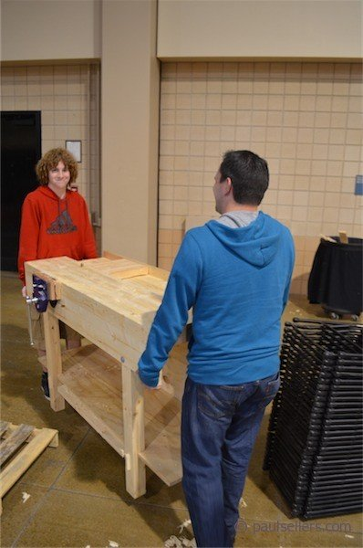 Workbench Height Calls For Tall Or And Short Paul Sellers Blog
