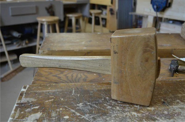 Here's my mallet