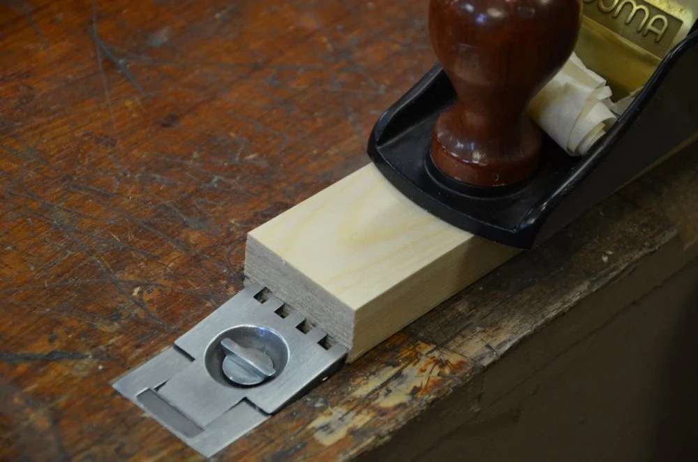 Adding A Flush Bench Stop Paul Sellers Blog