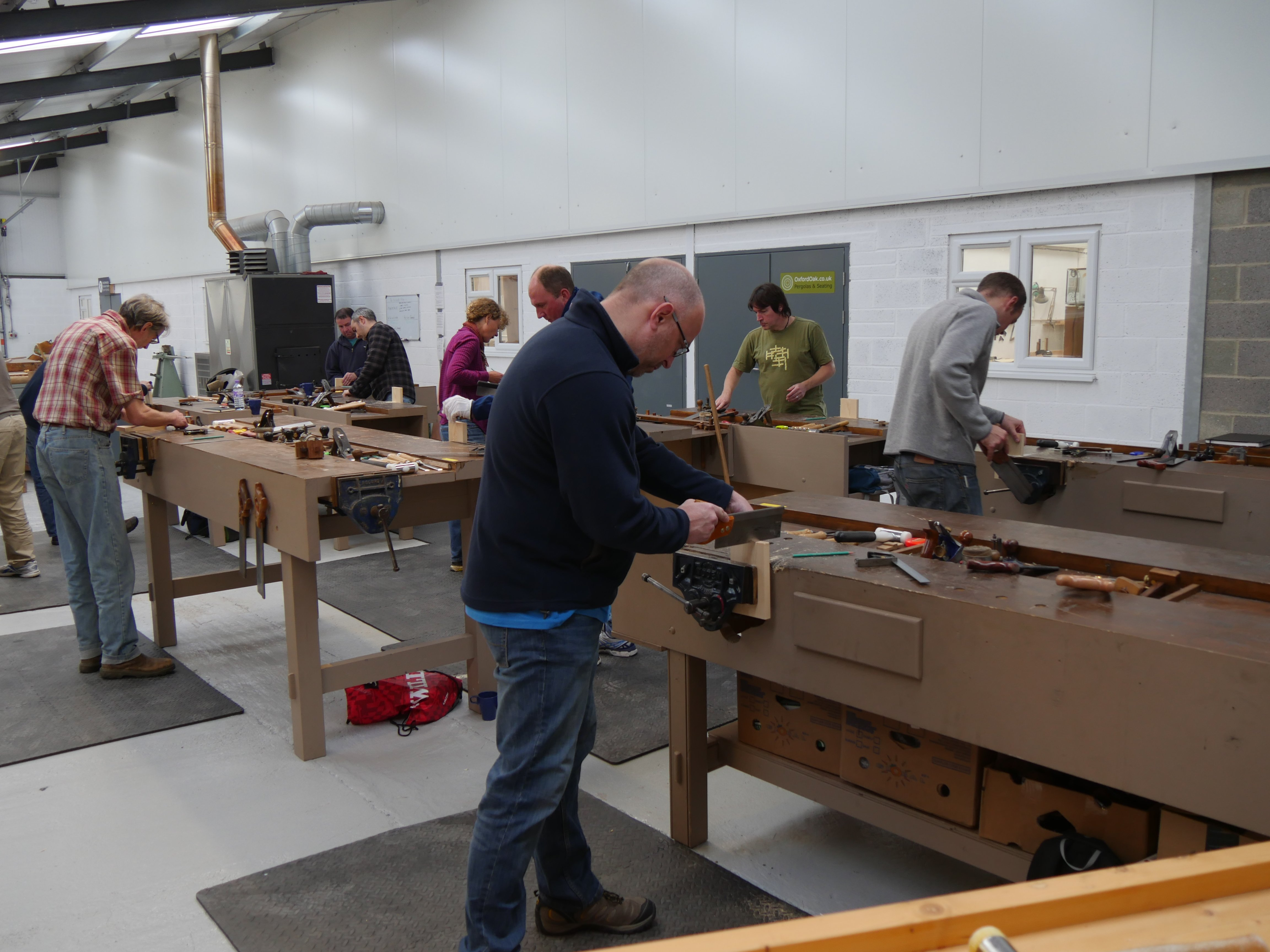 my first class in england - paul sellers' blog