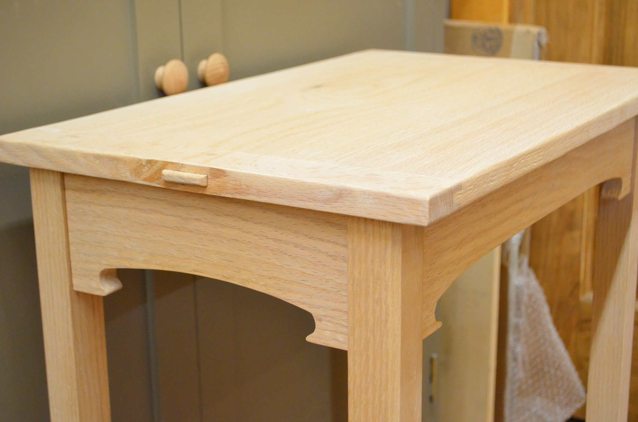breadboard ends with draw bore pins love em paul sellers blog
