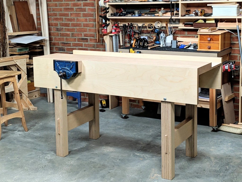 my plywood workbench - paul sellers' blog