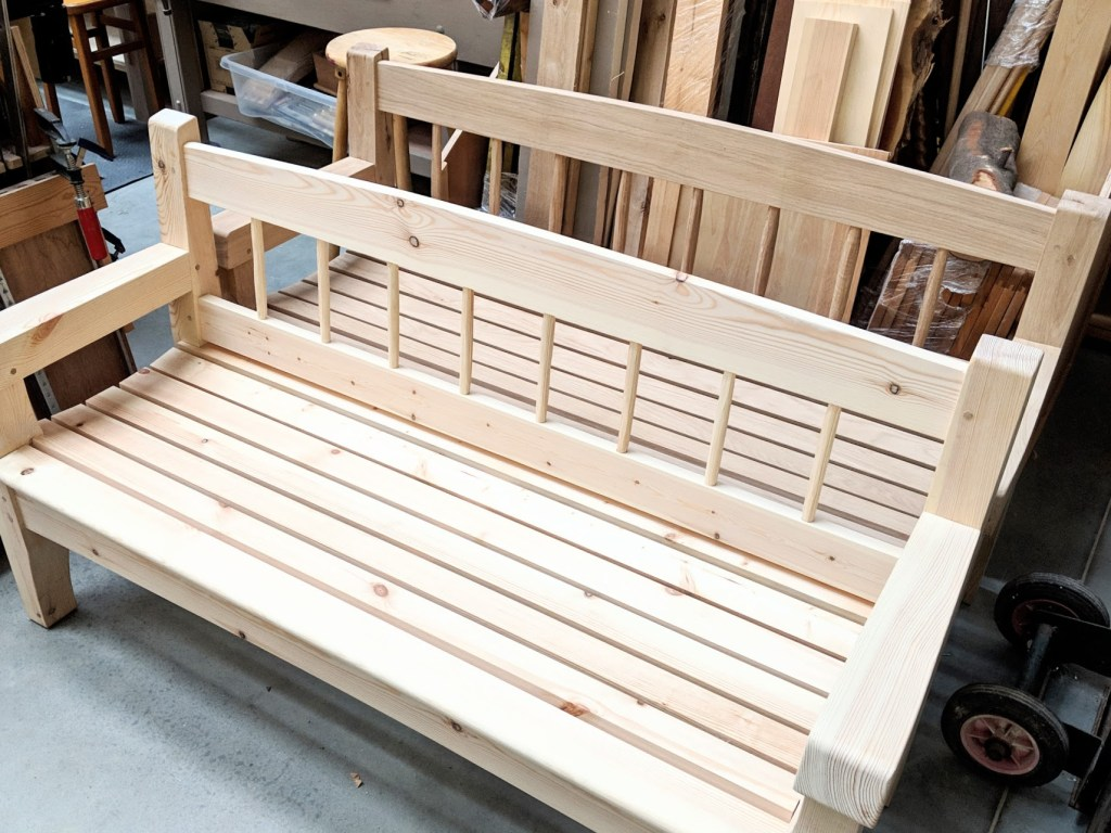 Prime The Bench In My Garden Paul Sellers Blog Creativecarmelina Interior Chair Design Creativecarmelinacom
