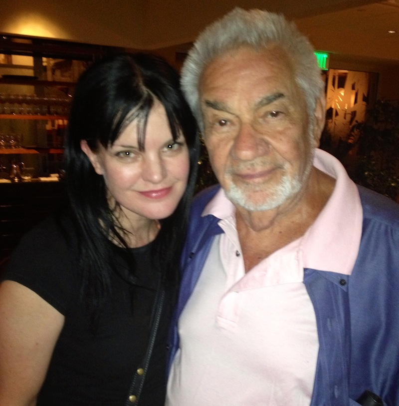 Pauley Perrette with Mark Lane