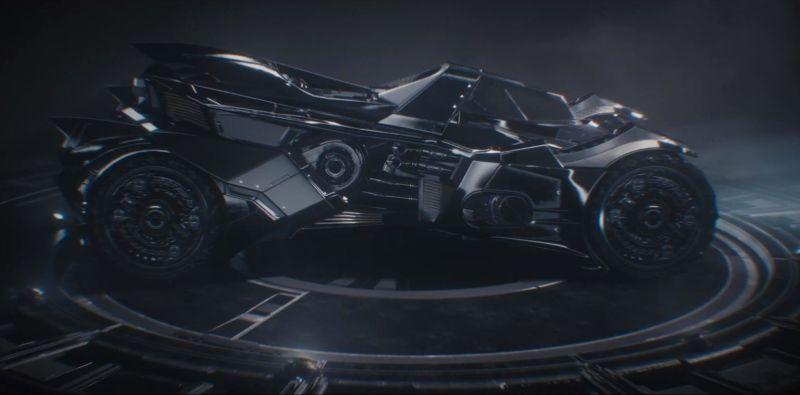 Arkham Knight car